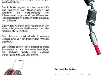 Climb Fräsroboter / robot per fresature Climb